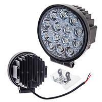 Противотуманная LED фара светодиодная  LML-K1042 FLOOD(14led*3w) D=115mm