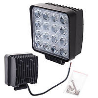 Противотуманная LED фара светодиодная  LML-K1748 SPOT(16led*3w) 105mm*105mm