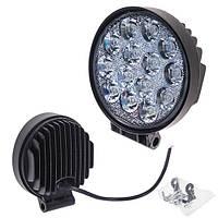 Противотуманная LED фара светодиодная  LML-K1042F FLOOD(14led*2w) D=115mm