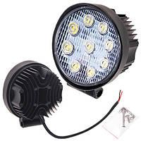 Противотуманная LED фара светодиодная  LML-K0627 FLOOD(9led*3w) D=115mm