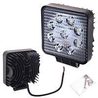Противотуманная LED фара светодиодная  LML-K0727D FLOOD(9led*2w) 105mm*105mm