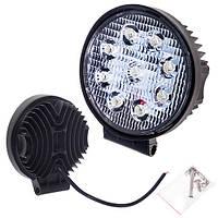 Противотуманная LED фара светодиодная  LML-K0627 SPOT(9led*3w) D=115mm