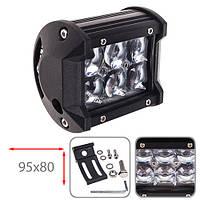 Противотуманная LED фара светодиодная  LML-C2018 F-5D SPOT (6led*3w)