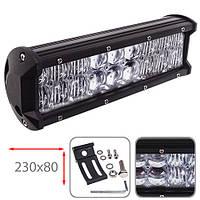 Противотуманная LED фара светодиодная  LML-C2054 F-5D COMBO (18led*3w)