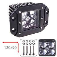 Противотуманная LED фара светодиодная  LML-K1212FC-4D SPOT (4led*3w)