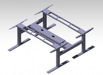 Эргономичный стол с регулировкой по высоте Aoke Face to Face