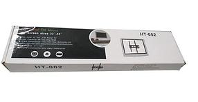 Плоский настінний тримач з похилому для телевізора HT-002