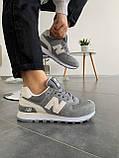 Кросівки New Balance 574 gray, фото 6