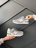Кросівки New Balance 574 gray, фото 4