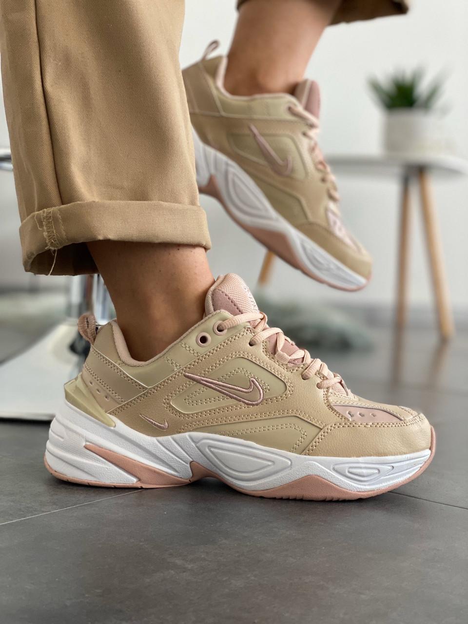 """Жіночі кросівки Nike M2K Tekno """"Beige"""""""