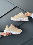 """Жіночі кросівки Nike M2K Tekno """"Beige"""", фото 6"""