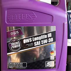 Синтетическое моторное масло OWS Longlife III SAE 5W-30 (5л)