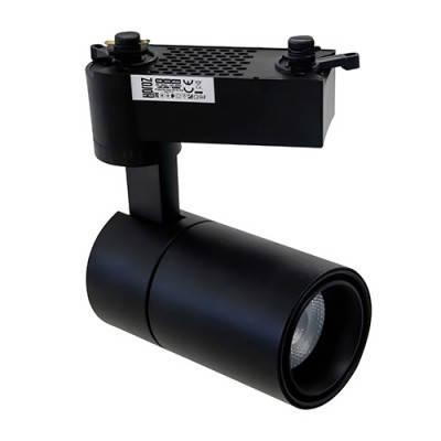 Світлодіодний світильник трековий чорний 20W 4200K Atlanta Horoz Electric 018 025 0020, фото 2