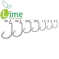 Крючки Offset Worm hook (уп.10 шт)