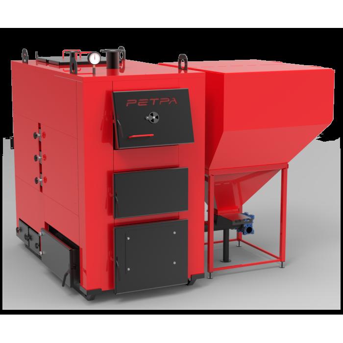 Твердотопливный пеллетный котел РЕТРА-4М ТРИО 400 кВт длительного горения