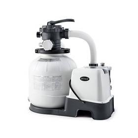Песочный фильтр-насос комбинированный с хлоргенератором INTEX 26676