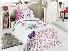 Комплект постельного белья ТМ First Choice ранфорс молодежный  Clara