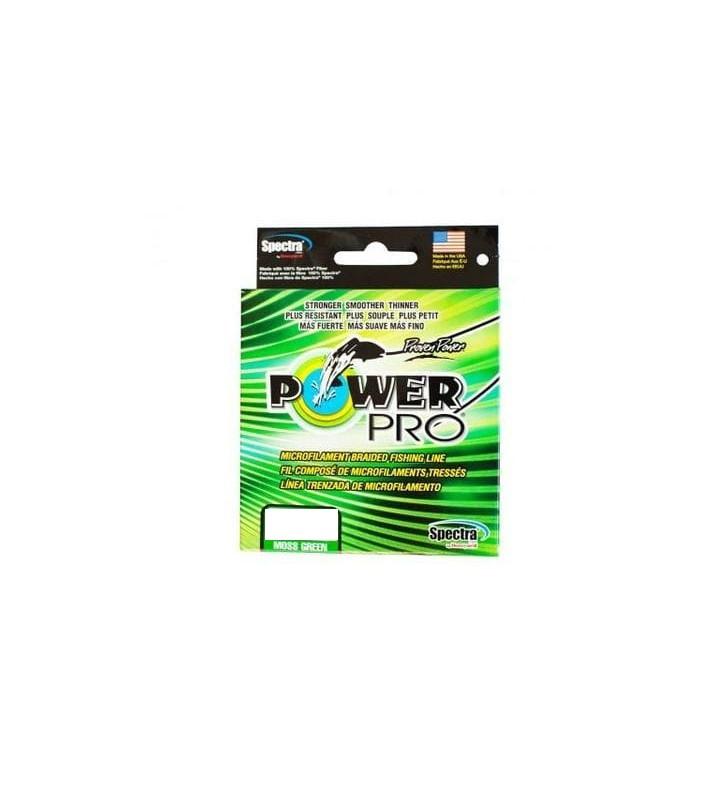 Шнур Power Pro 455m Moss Green 0.36mm 30kg/66lb