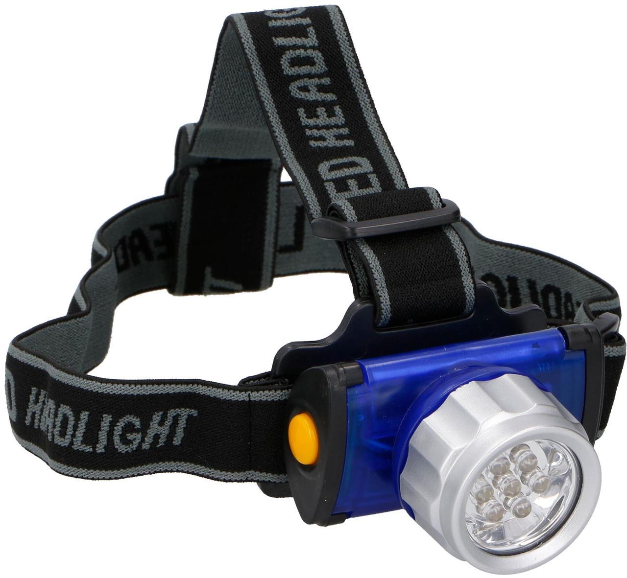 Налобный фонарь туристический DUNLOP 7 LED