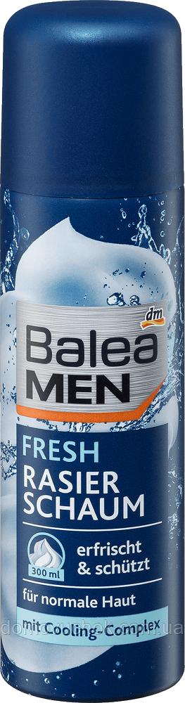 Пенка  для бритья  Balea men fresh 300 мл