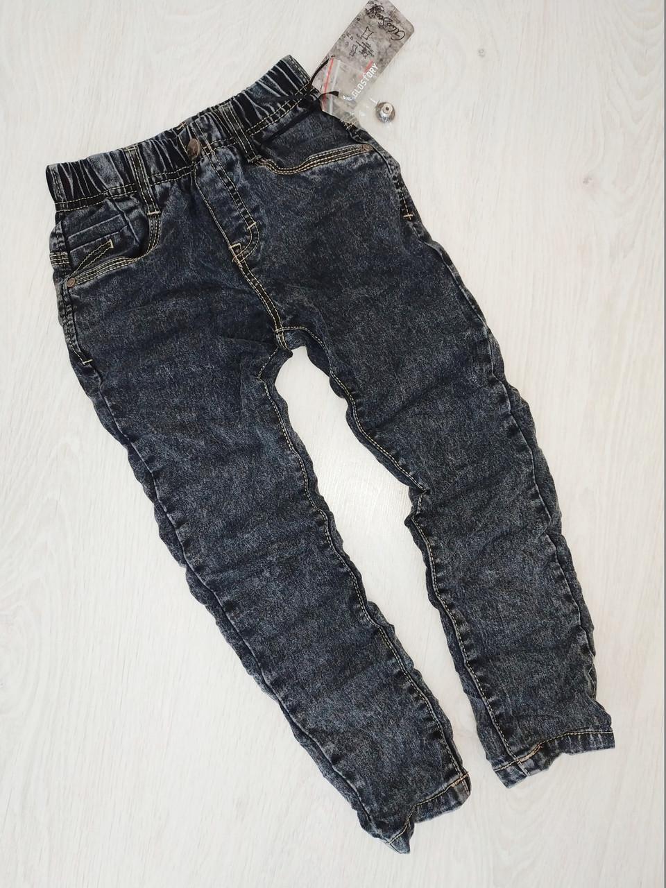 Джинсовые брюки для мальчика, Glo-story, Венгрия, арт. 9272,  104