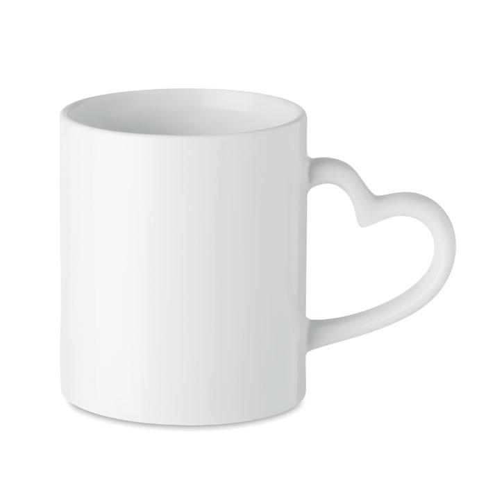 Чашка сублимационная белая LOVE 330 мл