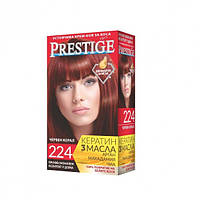 Стойкая краска для волос vip's Prestige №224 Красный коралл