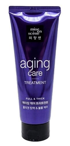Антивозрастная маска для сильных и здоровых волос Mise en Scene Black Pearl Anti-aging Full and Thick Treatmen