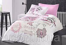 Комплект постельного белья ТМ First Choice ранфорс молодежный  Lavonne