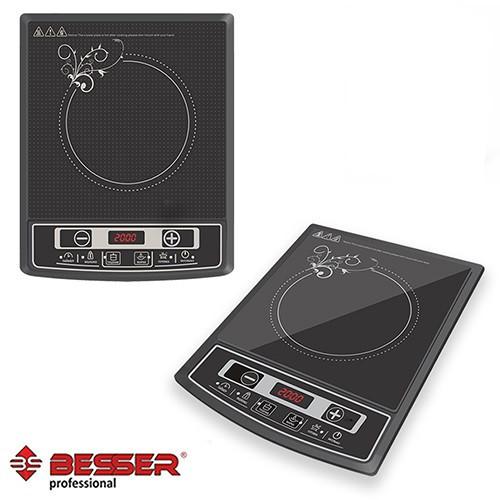 Индукционная электроплита BESSER 2000 Ват Керамическая