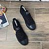 Мужские кеды в стиле Convers черные, фото 6