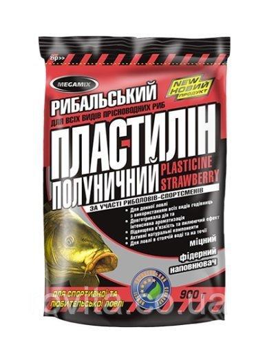 Пластилин Megamix 500гр Клубника