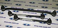 Комплект усиленной рулевой трапеции ВАЗ-2101-2107 с крепежом и сгонками шестигранными, фото 1