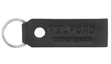 Зажим для купюр из кожи черный HELFORD Милл blk (1133802321), фото 3