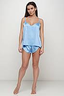 Шелковый пижамный комплект майка и шортики ТМ Orli