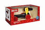 BRIO Каталка-такса маленькая, на веревочке 30332, фото 5