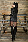 Куртка Женская Косуха Черная 020НЖ, фото 9