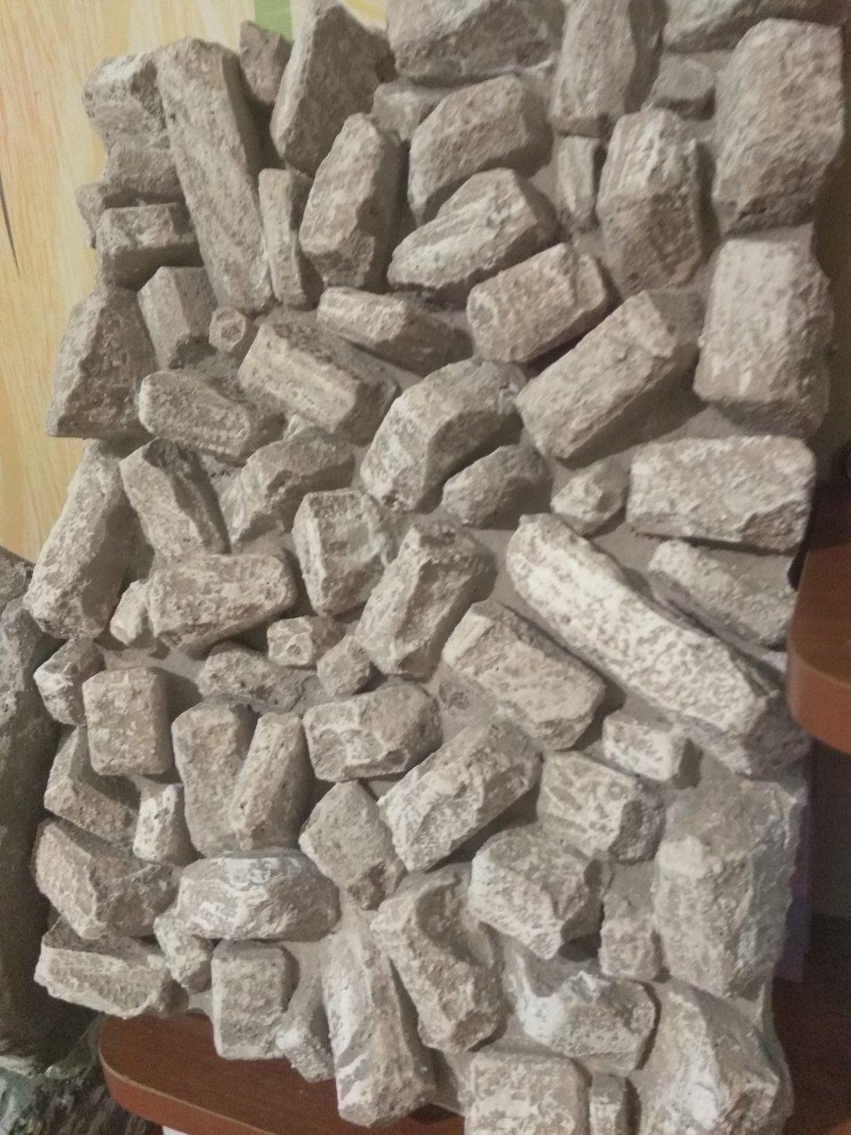 Фон для террариума - камни 3D