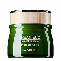 Крем для лица с экстрактом новозеландского льна The Saem Urban Eco Harakeke Cream 60 мл