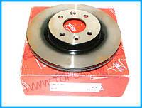 Тормозные диски передние Renault Kangoo  259mm*20,6  TRW Германия DF2586
