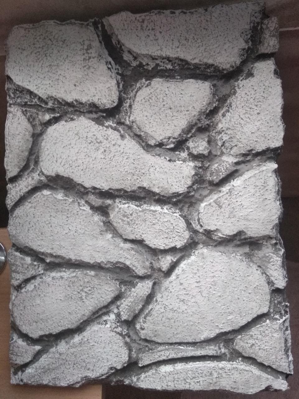 Фон для террариума - скала с трещинами