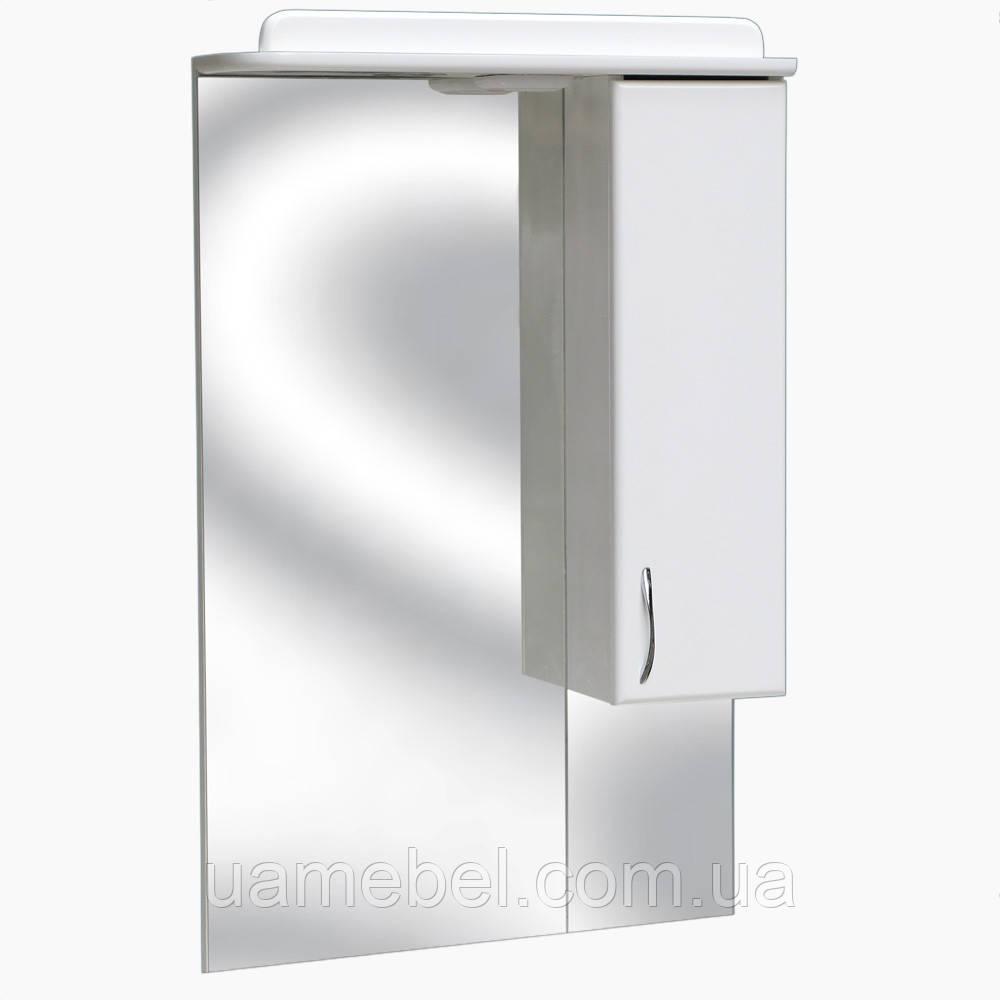 Зеркало для ванной с подсветкой З-3 (без полки) (40-95 см)