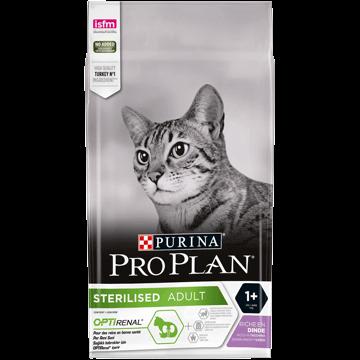 Сухий корм для кішок Pro Plan Sterilised Про План для стерилізованих котів і кішок з індичкою 10 кг