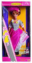 Коллекционная кукла Барби Француженка Куклы Мира Barbie French Dolls of the World Collection 1996 Mattel 16499