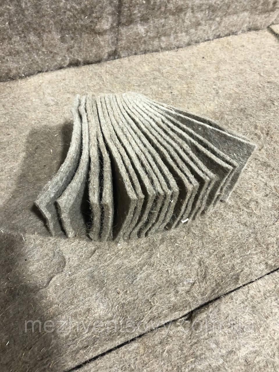 Льняные коврики для проращивания микрозелени 30штук