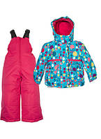 Зимний костюм для девочки Zingaro by Gusti ZWG 4873 BLUE ATOLL. Размер 92 и 98.