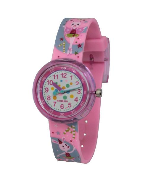 Часы детские наручные для девочек Зайчик