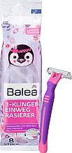 Женские одноразовые станки  Balea Women 3-Klingen  3 леза 8 шт