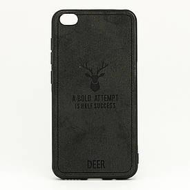 Чехол Deer для Xiaomi Redmi GO бампер накладка Черный