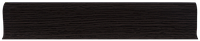 Плинтус пластиковый Lineplast LT011 Темный Клен с кабель каналом напольный пластиковый плинтус